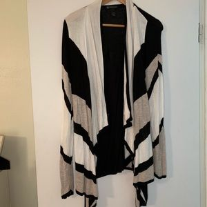 INC International Concepts  draped cardigan
